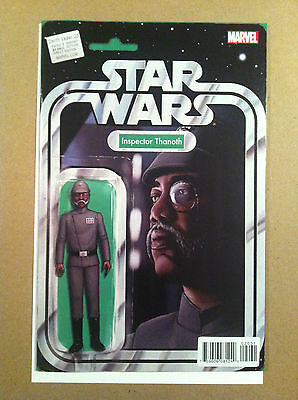 """Star Wars Darth Vader #20 """"inspector Thanoth"""" Action Figure Variant Cover Nm 1St"""