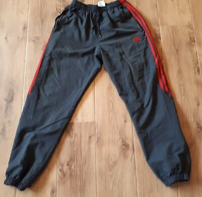 Mens Addidas Tracksuit bottoms joggers size large