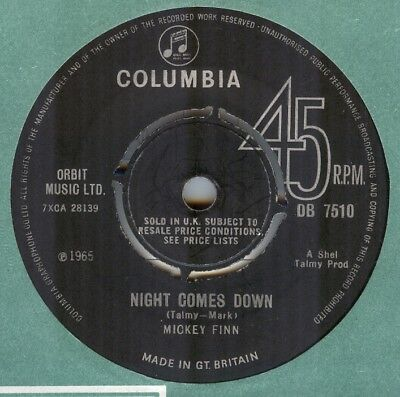 Mickey Finn**night Comes Down***beat**mod**listen To It