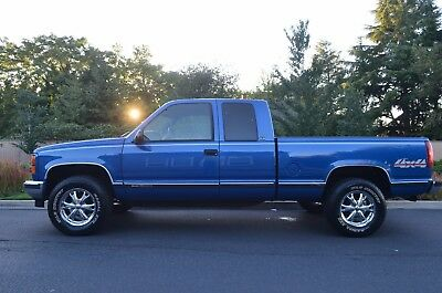 1996 GMC Sierra 1500 K1500 SLE 4WD 2Dr Extended Cab SB low miles 95,477 1996 GMC Sierra 1500 K1500 SLE 4WD 2dr Extended Cab SB Only 95,477 miles