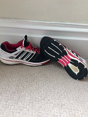Adidas Supernova Glide Boost Trainers - Size 8.5 - Excellent Condition - RRP £89