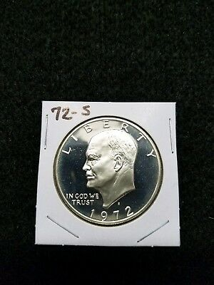 1972-S Proof Ike Dollar,,,from Us Proof Set