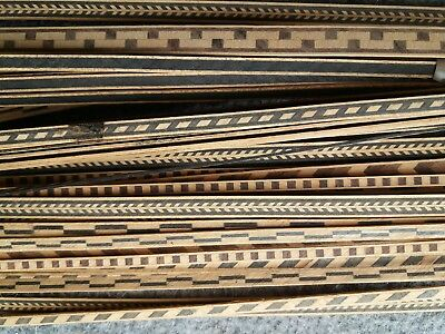 Job Lot Inlay Banding Antique Restoration Marquetry Wood working