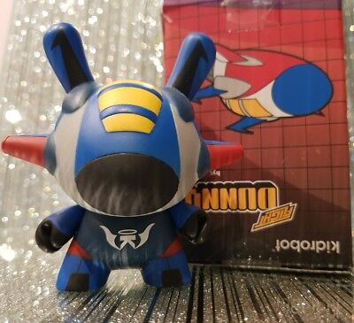 "kidrobot 3"" Dunny KaNo Flight Blue"