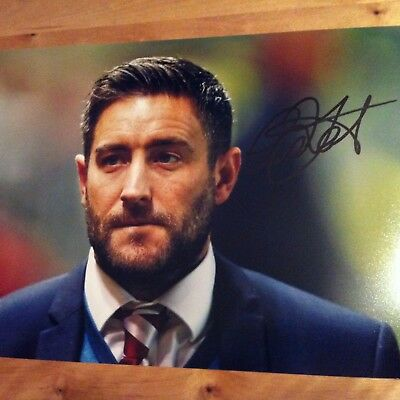 Lee Johnson Bristol City signed autographed 12x8 photo signed