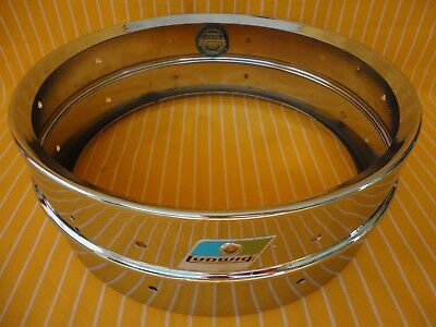 1979 Ludwig Supra-Phonic Snare Drum Shell+ B/o Badge  Luda Loy Style Made In Usa