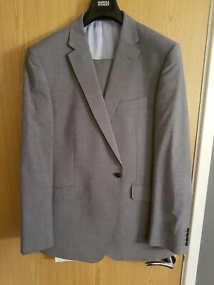 M&S Savile Row Inspired Suit 46L ** Free Shirt **