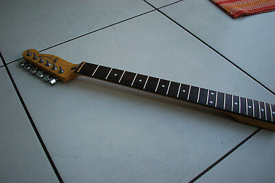 Telecaster guitar neck w. Wilkinson tuners