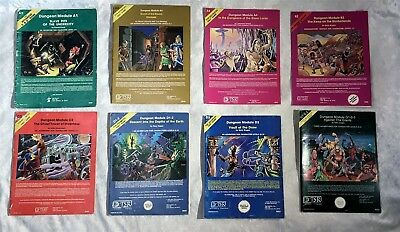 AD&D - TSR Module LOT of 13 Dungeon Modules, 9022, 9040, 9059, 9021, 9058 & MORE