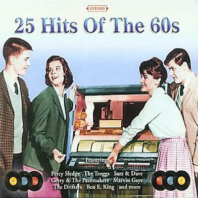 25 Hits Of The 60s - CD - BRAND NEW SEALED - SIXTIES 1960s GREATEST HITS OF