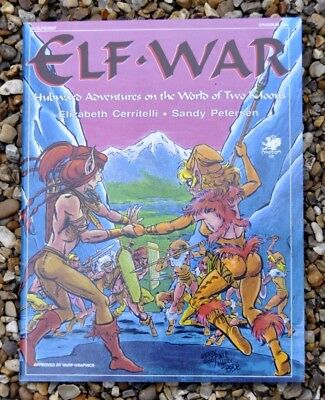 Elfquest - The Official Roleplaying Game - Elf War Module 1St Print