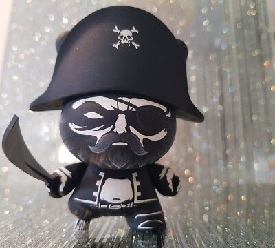 "kidrobot 3"" Exclusive Dunny- Toycon UK JPK Exclusive Pirate *Signed*"