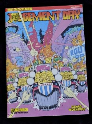 Judge Dredd The Role-Playing Game Judgement Day Scenario
