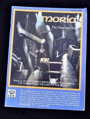 Moria - The Dwarven City Ice.  Lotr. Tolkien, Lord Of The Rings.