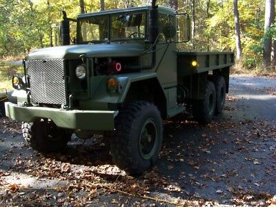 Military M-621 Twin Turbo 9 Liter Ih Engine Air Lockers Power Steer O/d M-35A2