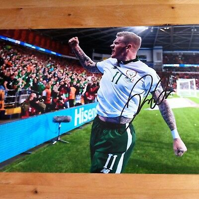 JAMES McCLEAN ( IRELAND ) signed autographed 12x8 photo signed