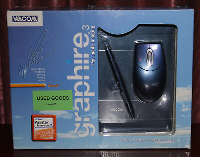 Wacom Graphire 3 Graphics Tablet with Pen & Mouse CTE-430/B0