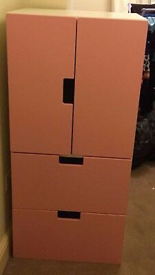 IKEA STUVA unit with handing rail, doors and drawers