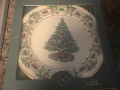 Lenox 1998 Annual Holiday Plate