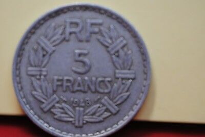 France 1948 5 franc in very fine Open 9