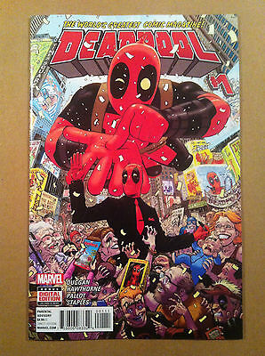 "Deadpool V.4 #1 Tony Moore Cover ""a"" Gerry Duggan Mike Hawthorne Nm 1St Printing"