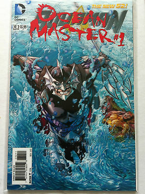 Aquaman #23.2 Ocean Master #1 3-D Motion Villains Lenticular Hologram Cover Nm