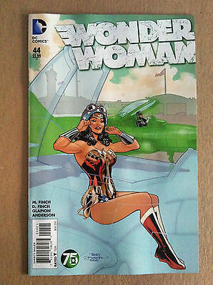 "Wonder Woman (2011) #44 Terry Dodson ""green Lantern"" Variant Nm 1St Printing"