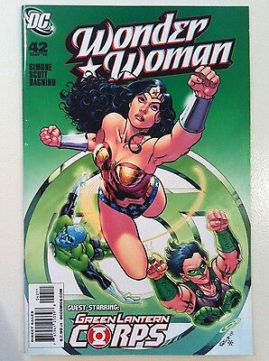 Wonder Woman (2006) #42 Gail Simone Nicola Scott Green Lantern 1St Printing Vf