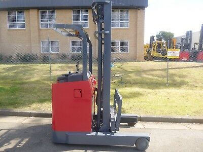 Refurbished Nichiyu Electric Stand On Reach Forklift - Serviced, 6.0 Metre Lift