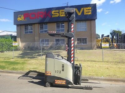 Refurbished Crown Reach Truck, 8.1 metre Lift height, Good Battery with Warranty