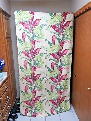 "2 Vintage 88"" By 44""  Barkcloth Drapery Panels"
