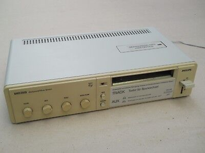 Philips BMS 2500 Background Music System 4-Track Tape Player RARE