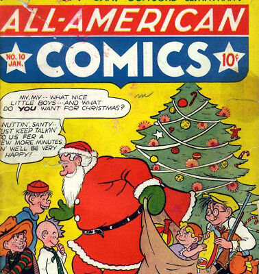 ALL AMERICAN COMICS - Vintage Golden Age US Comics on DVD