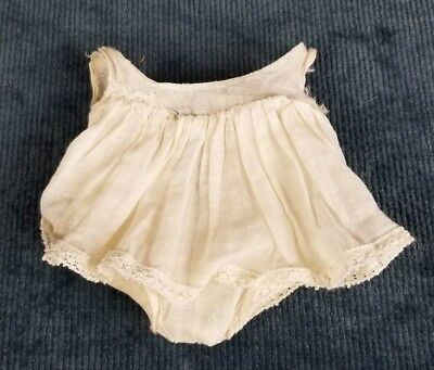 Vintage Ideal Shirley Temple Composition 1930's Original White Slip for a 13 in