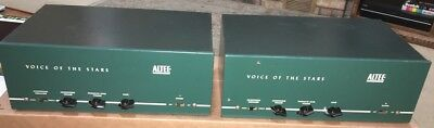 Pair of Matching Vintage Altec 356A Voice of Stars Tube Mono Amplifiers + Extras