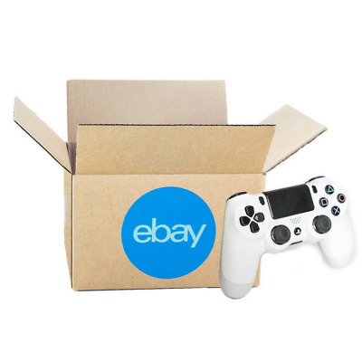 """Official eBay-Branded Boxes With Blue 2-Color Logo 8"""" x 6"""" x 4"""" Premium New Line"""