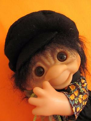 "8.5"" Rare HTF Dam Troll Co. Doll Toy, All Original Clothes & Tag, Fully Jointed"