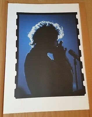 BOB DYLAN by Grammy Award Winner Rowland Scherman 16/500 Limited Edition Litho