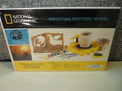 National Geographic  Egyptian Pottery Wheel New sealed in box
