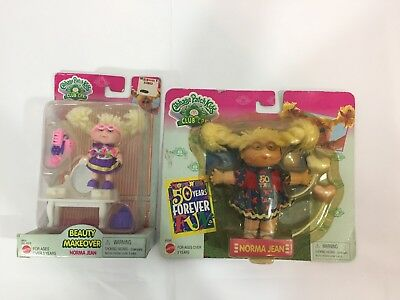 Vintage Cabbage Patch Kids Club Plush Doll Toy Norma Jean Lot