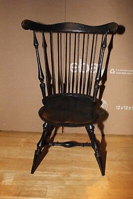 Windsor Wood Wooden Chair Riverbend Chair Company Ohio Salesman Sample MINIATURE