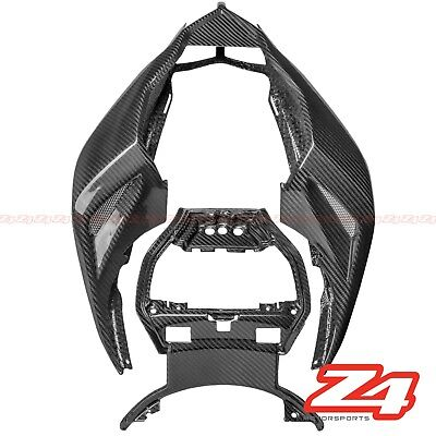 Streetfighter S 848 Rear Upper Tail  Driver Seat Panel Cowl Fairing Carbon Fiber