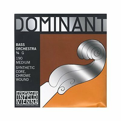 THOMASTIK 190 DOMINANT DOUBLE BASS ORCHESTER G-1 Dominant Strings Nuovo