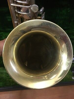 Frank Holton C Melody Low Pitch,Neck Mouthpiece,Case,Gold Wash Bell, REDUCED!!!!