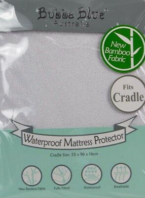 Bubba Blue Waterproof Mattress Protector CRADLE