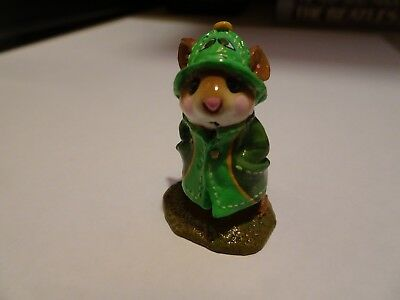 Wee Forest Folk April Showers special FTF 2007 green turtle