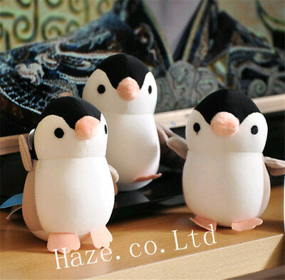 Lovely Penguin Stuffed Animal Soft Plush Toy Pendant Keychain Kids Gift