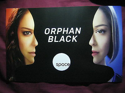 Orphan Black TV Show Promo Poster Fan Expo Comic Con 2014 Sarah Rachel 11 x 17