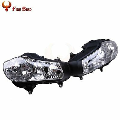 Replacement Front Headlight Lamp Housing Shell For Honda Goldwing GL1800 01-11