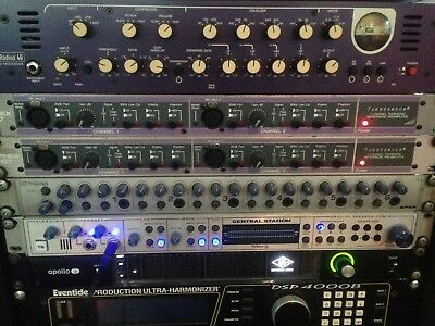 Aphex-107-Dual-Channel-Tube-Preamp X 2